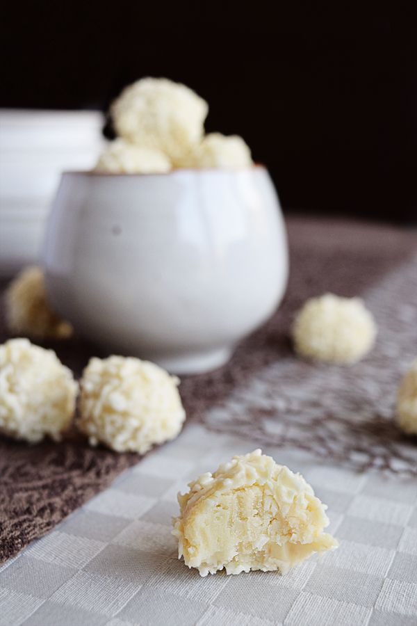Coconut White Chocolate Snowballs | Chapters by S.