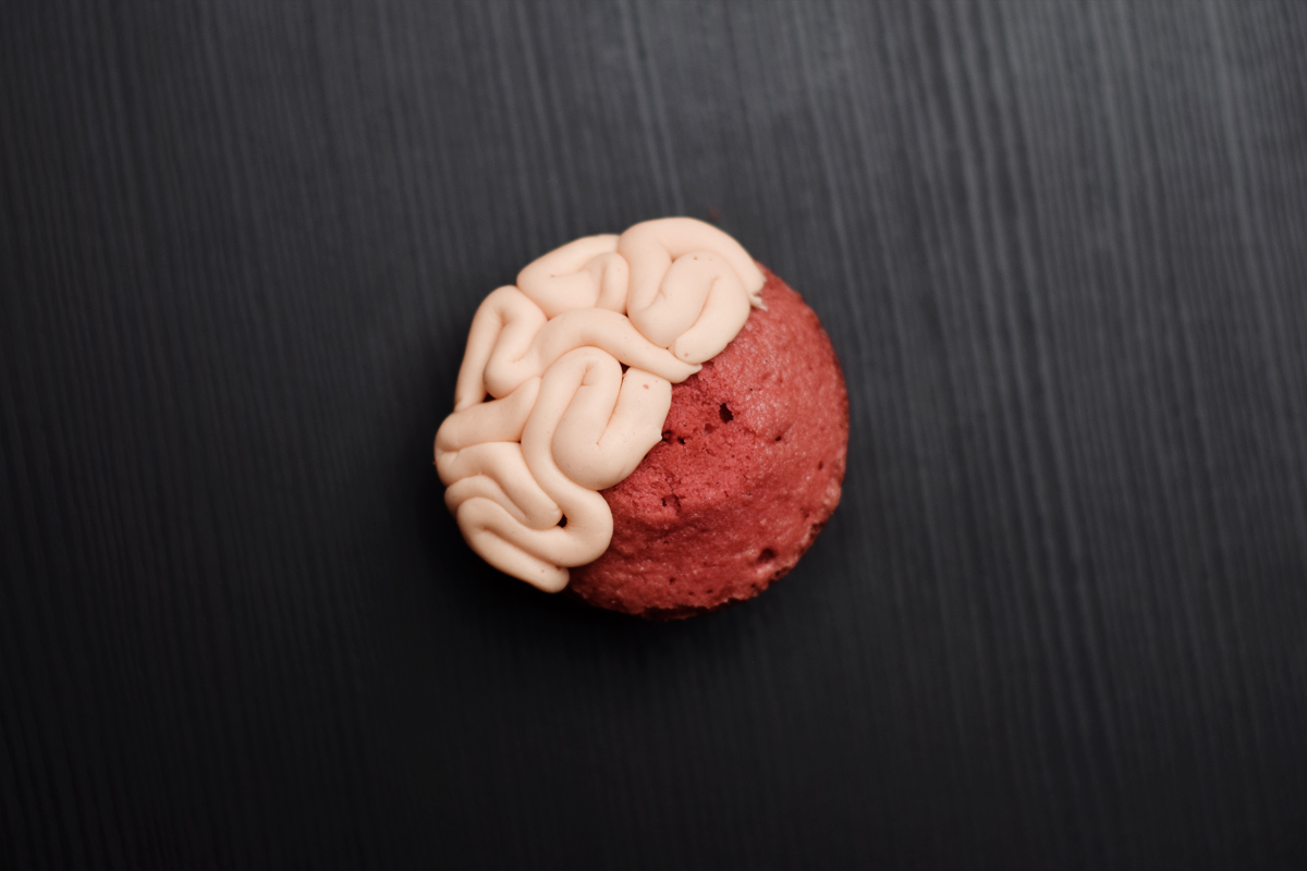 Halloween Brain and Teeth Cookies - Chapters by S.