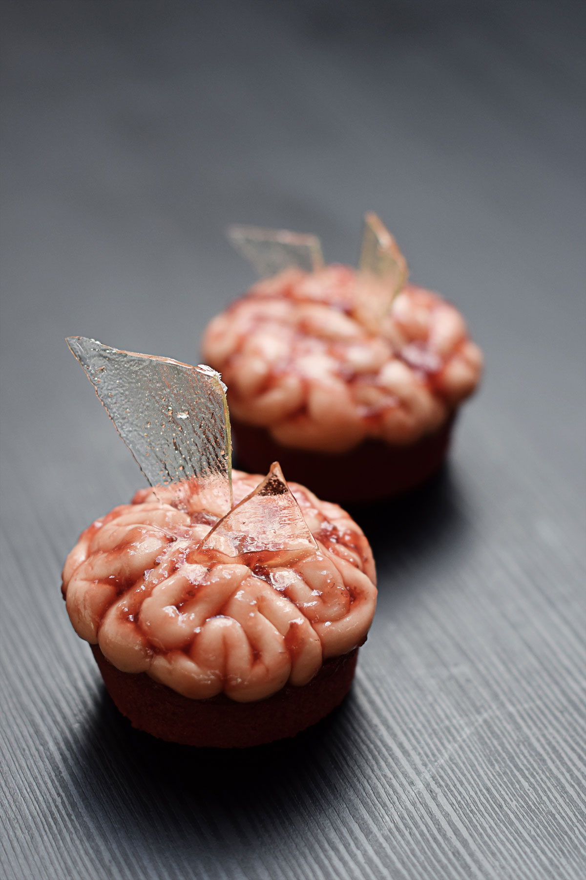 Halloween Brain Cupcakes | Chapters by S.