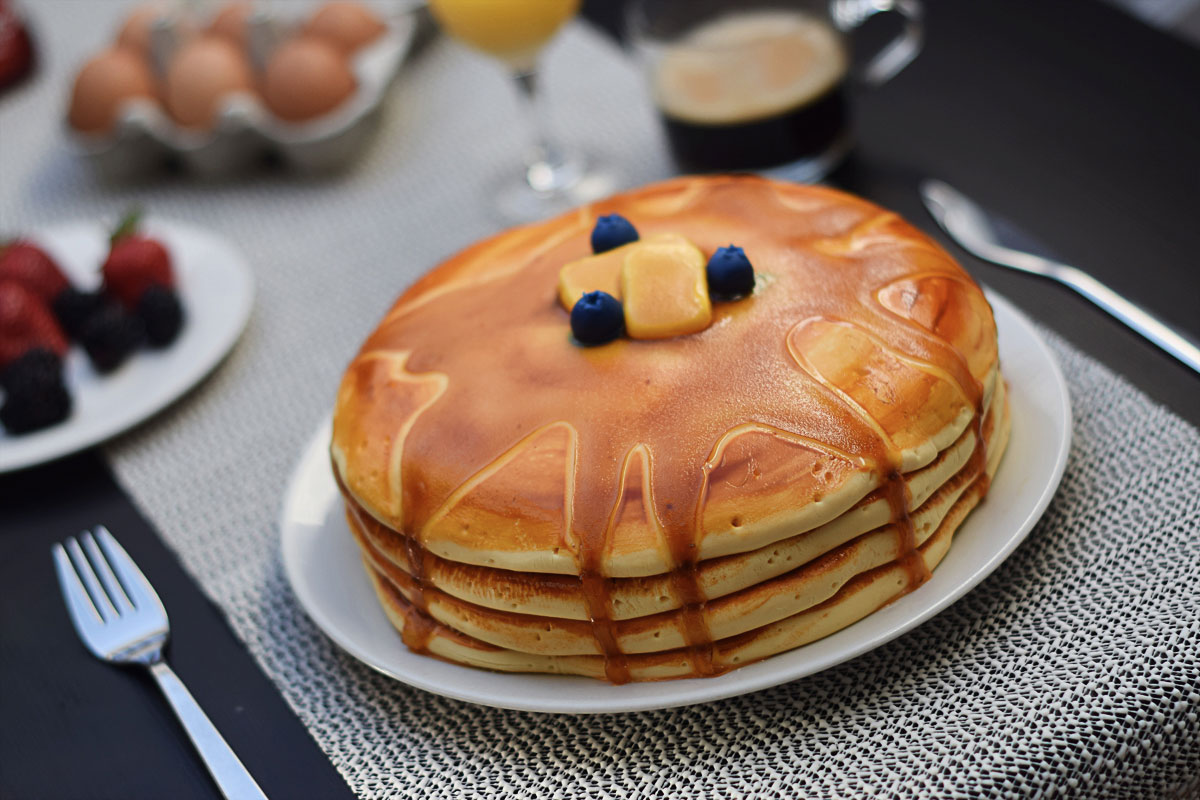 Pancake Stack Cake with Chocolate Chips   Chapters by S.